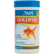 API Sinking Pellets Goldfish Food, 7-oz bottle