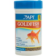 API Optimal Protein Sinking Pellets Goldfish Food, 4-oz bottle