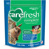 CareFresh Complete Menu Rabbit Food, 4.5-lb bag