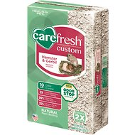 CareFresh Custom Hamster & Gerbil Paper Bedding, Natural, 30-L