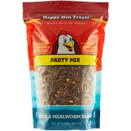 Happy Hen Treats Sunflower & Raisin Party Mix Treats for Chickens, 2-lb bag