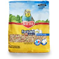 Kaytee Egg-Cite! Forti-Diet Pro Health Parakeet Bird Food, 5-lb bag