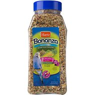 Hartz Bonanza Vegetable Blend Parakeet Food, 24-oz jar