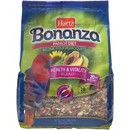 Hartz Bonanza Parrot Food, 4-lb bag