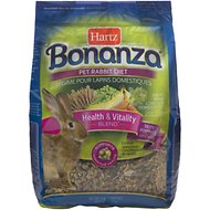 Hartz Bonanza Rabbit Food, 4-lb bag
