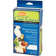 Hartz Bird & Small Animal Absorbent Cage Liners, 7 count