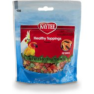 Kaytee Fiesta Healthy Toppings Papaya Bird Treats, 2.5-oz bag