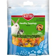 Kaytee Fiesta Healthy Toppings Papaya Small Animal Treats, 2.5-oz bag