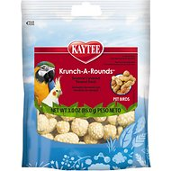 Kaytee Fiesta Krunch-A-Rounds Hookbill Bird Treats, 3-oz bag