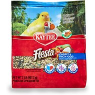 Kaytee Fiesta Variety Mix Canary & Finch Bird Food, 2-lb bag