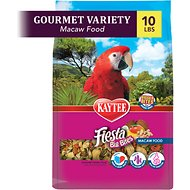 Kaytee Fiesta Variety Mix Big Bites Macaw Bird Food, 10-lb bag