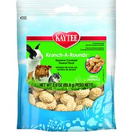 Kaytee Fiesta Krunch-A-Rounds Small Animal Treats, 3-oz bag