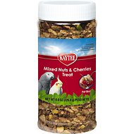 Kaytee Fiesta Mixed Nuts & Cherries Bird Treats, 8-oz jar