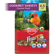 Kaytee Fiesta Variety Mix Conure Bird Food, 4.5-lb bag