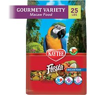 Kaytee Fiesta Variety Mix Macaw Bird Food, 25-lb bag