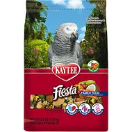 Kaytee Fiesta Variety Mix Parrot Bird Food, 2.5-lb bag