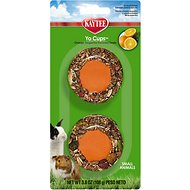 Kaytee Fiesta Tangerine Orange Flavored Yogurt Cup Small Animal Treats, 3.8-oz