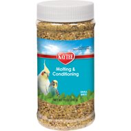 Kaytee Forti-Diet Pro Health Molting & Conditioning Small Bird Supplement, 11-oz jar