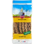 Kaytee Natural Spray Millet Bird Treats, 12 count
