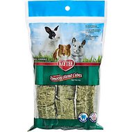 Kaytee Natural Timothy Cubes Small Animal Treats, 1-lb bag