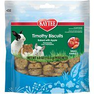 Kaytee Baked Apple Timothy Biscuit Small Animal Treats, 4-oz bag