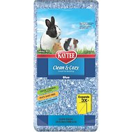Kaytee Clean & Cozy Small Animal Bedding, Blue, 24.6-L