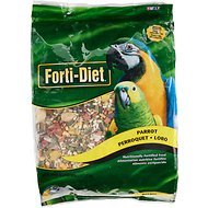 Kaytee Forti-Diet Parrot Bird Food, 5-lb bag