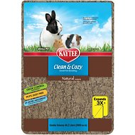 Kaytee Clean & Cozy Natural Small Animal Bedding, 49.2-L