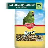 Kaytee Supreme Parrot Food, 25-lb bag