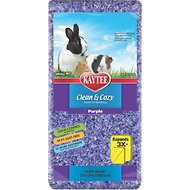 Kaytee Clean and Cozy Small Animal Bedding, Purple, 24.6-L