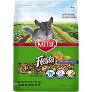 Kaytee Fiesta Gourmet Variety Diet Chinchilla Food, 2.5-lb bag