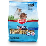Kaytee Forti-Diet Pro Health Hamster & Gerbil Food, 3-lb bag