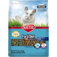 Kaytee Forti-Diet Pro Health Chinchilla Food, 3-lb bag