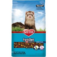 Kaytee Forti-Diet Pro Health Ferret Food, 3-lb bag