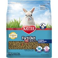 Kaytee Forti-Diet Pro Health Juvenile Rabbit Food, 5-lb bag