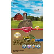 Kaytee Timothy Complete Plus Flowers & Herbs Fiber Diet Guinea Pig Food, 5-lb bag