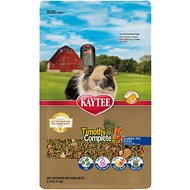 Kaytee Timothy Complete Plus Fruits & Veggies Fiber Diet Guinea Pig Food, 5-lb bag