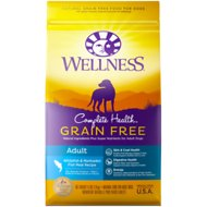 Wellness Grain-Free Complete Health Adult Whitefish & Menhaden Fish Meal Recipe Dry Dog Food, 24-lb bag