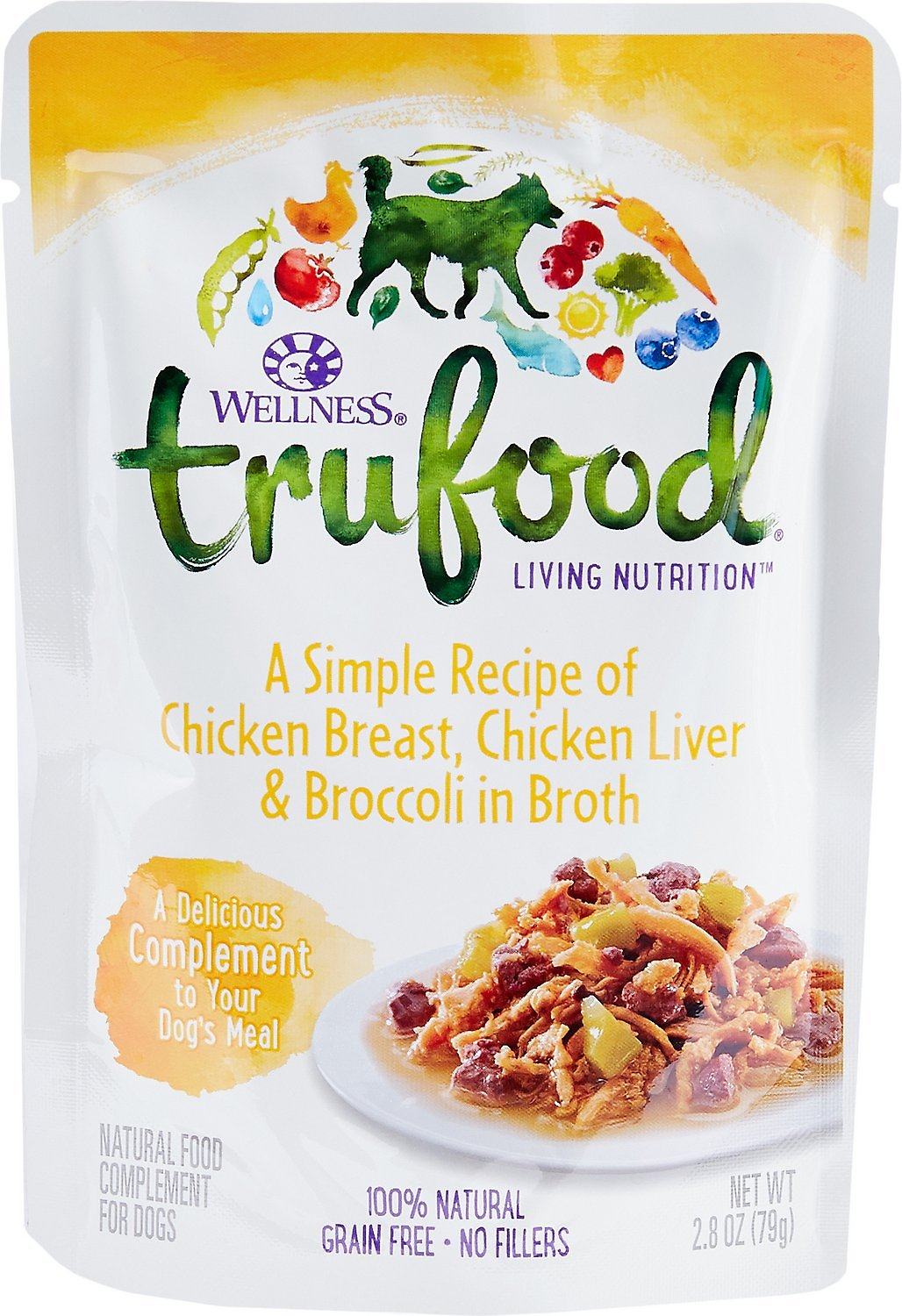 Wellness trufood chicken breast chicken liver broccoli in broth video forumfinder Images