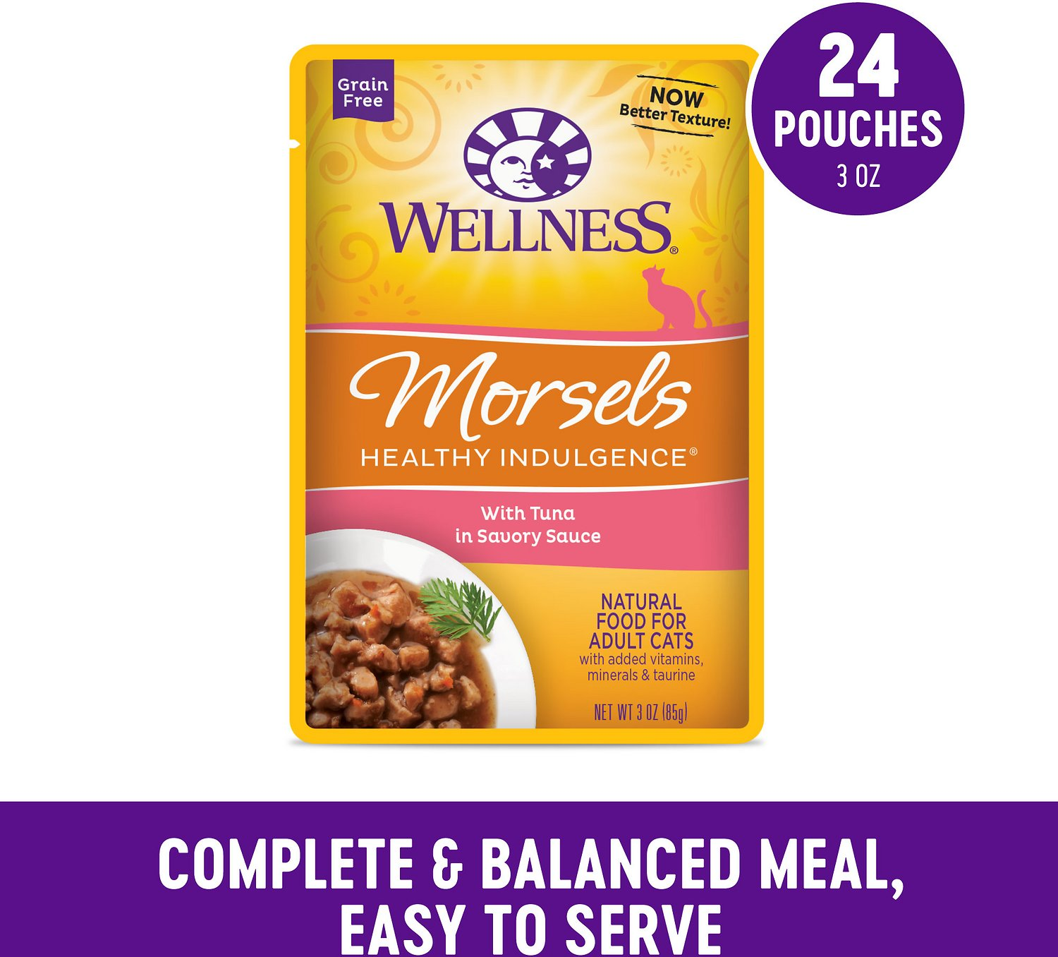 Wellness Cat Food Pouches