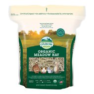 Oxbow Organic Meadow Hay Small Animal Food, 15-oz bag
