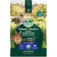 Oxbow Organic Bounty Adult Rabbit Food, 3-lb bag