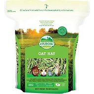 Oxbow Oat Hay Small Animal Food, 15-oz bag