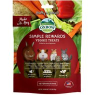 Oxbow Simple Rewards Oven Baked Veggie Small Animal Treats, 3-oz bag