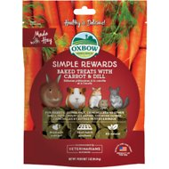 Oxbow Simple Rewards Oven Baked with Carrot & Dill Small Animal Treats, 3-oz bag