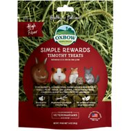 Oxbow Simple Rewards Timothy Small Animal Treats, 1.4-oz bag