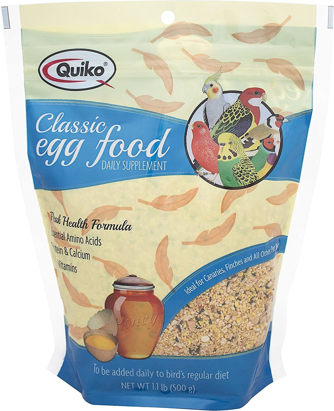 Quiko classic egg food supplement for canaries finches 11 lb bag roll over image to zoom in forumfinder Images