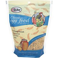 Quiko Classic Egg Food Supplement for Canaries & Finches, 1.1-lb bag