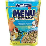 Vitakraft Menu Care Complex Canary & Finch Food, 2.5-lb bag