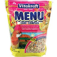 Vitakraft Menu Care Complex Cockatiel Food, 5-lb bag